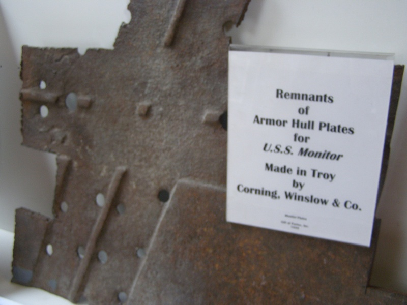 Hull armor for the U.S.S. Monitor